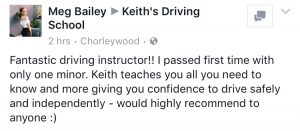 Driving instructor watford